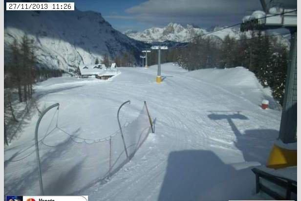 Comprensorio Ski Civetta, 27 Nov 2013
