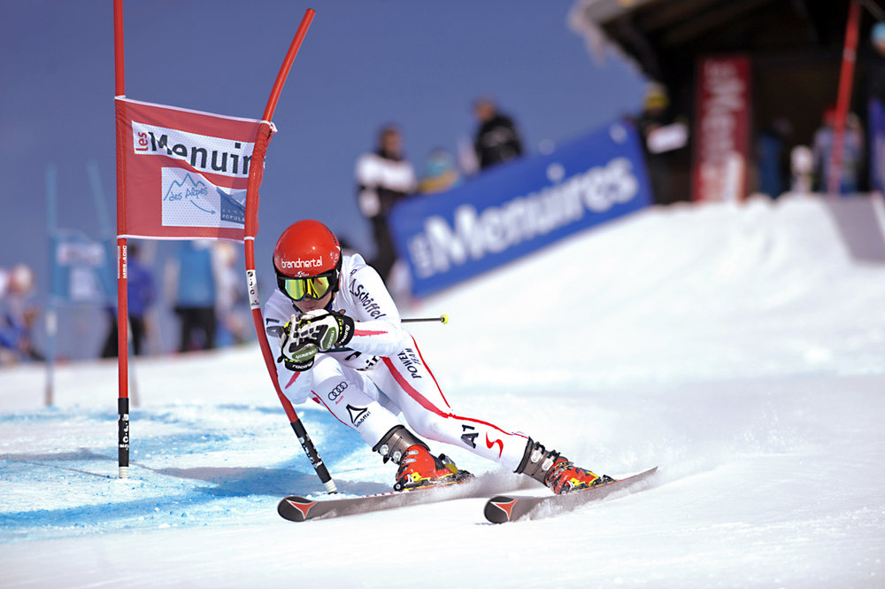 Coupe d'Europe ski alpin - ©P. Royer / Office de Tourisme des Menuires