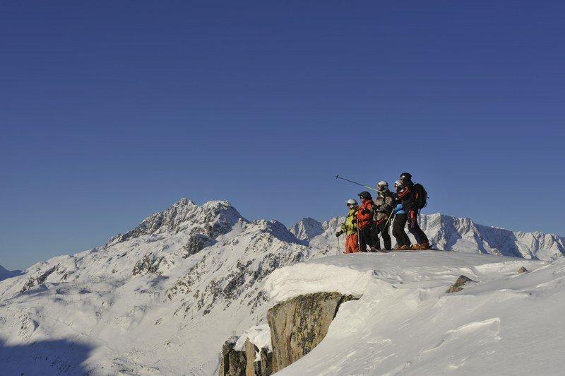 Faszinierende Ausblicke auf der Skisafari - © © Christian Perret