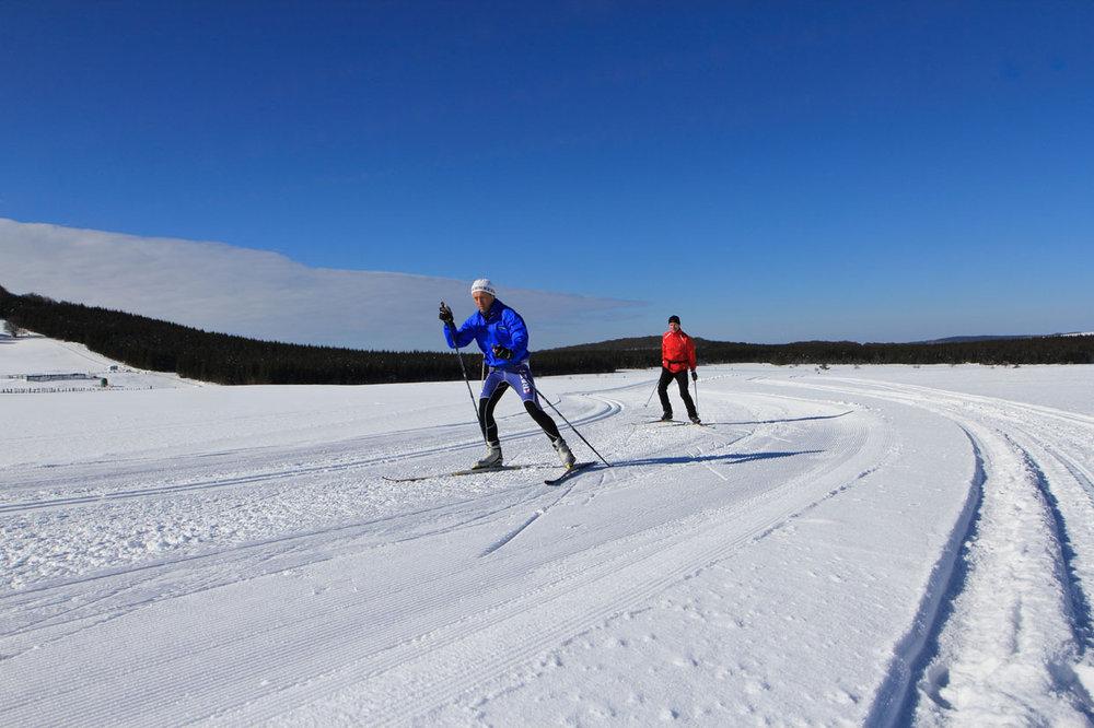 Domaine de ski nordique de Besse Super Besse - © Office de Tourisme Massif du Sancy