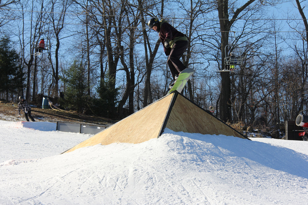 Fun box slide at Roundtop Resort in Pennsylvania. - ©Chris Dudding