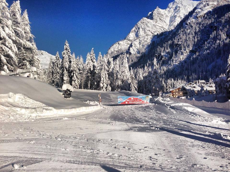 Gressoney St Jean - Neve fresca 27 dic 2013 - ©Monterosa Ski