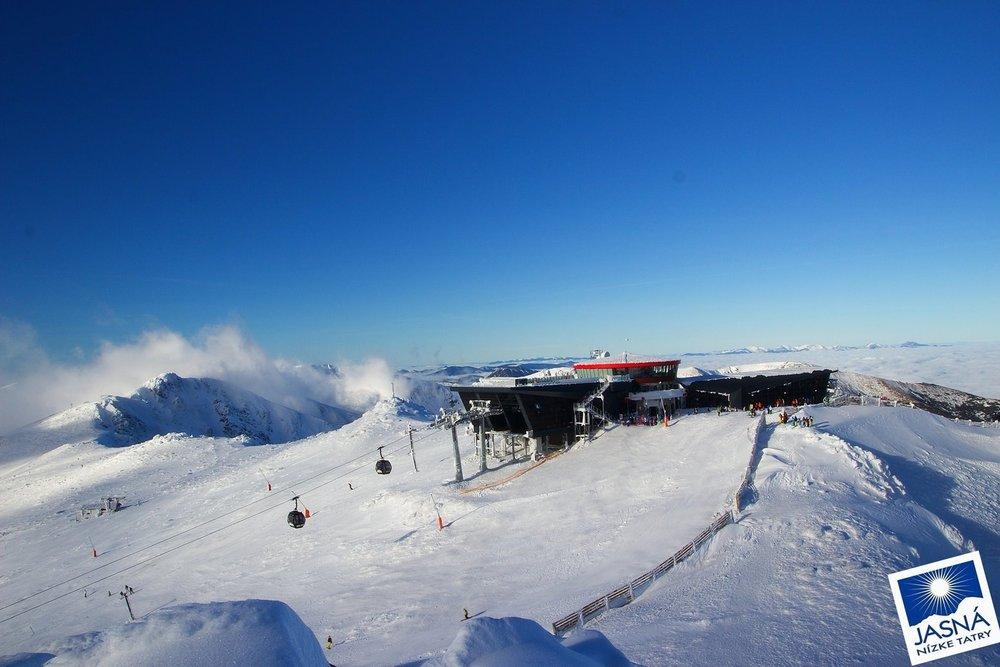 Jasná Low Tatras Jan 06, 2014 - ©Jasná Nízke Tatry FB