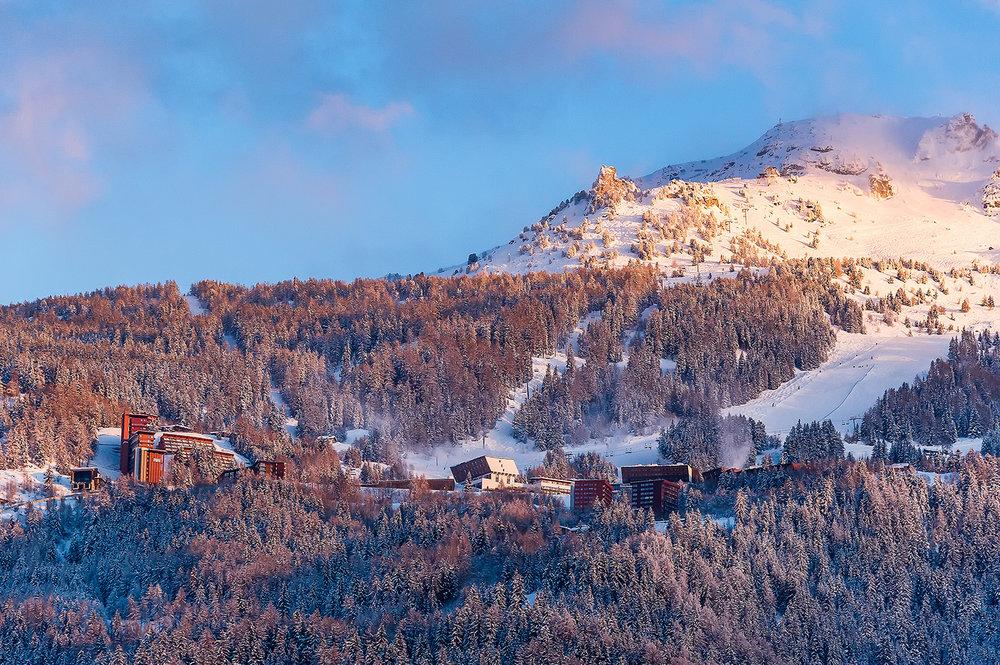 Du ski jusqu'aux pieds des résidences... Bienvenue aux Arcs 1600 - ©Andyparant.com