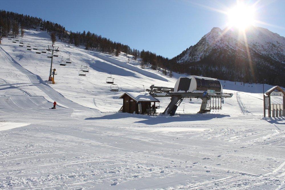 Milky Way ski safari. Credit Montgenevre Tourism - © OT de Montgenevre