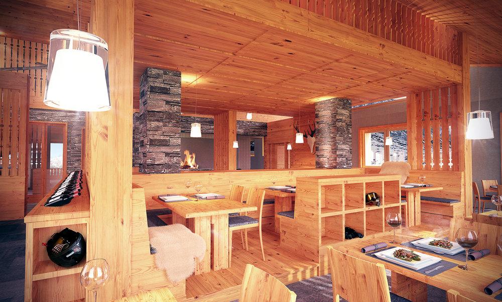 New restaurant Scharmoin - Arosa Lenzerheide - © Arosa Lenzerheide