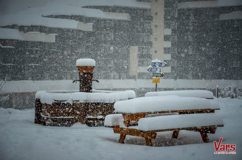 New snow in Vars - ©OT Vars