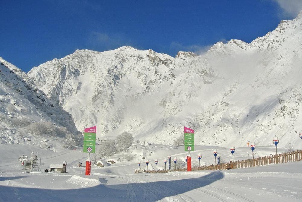 De plus en plus de stations mettent en place des zones strictement réservées aux skieurs débutants