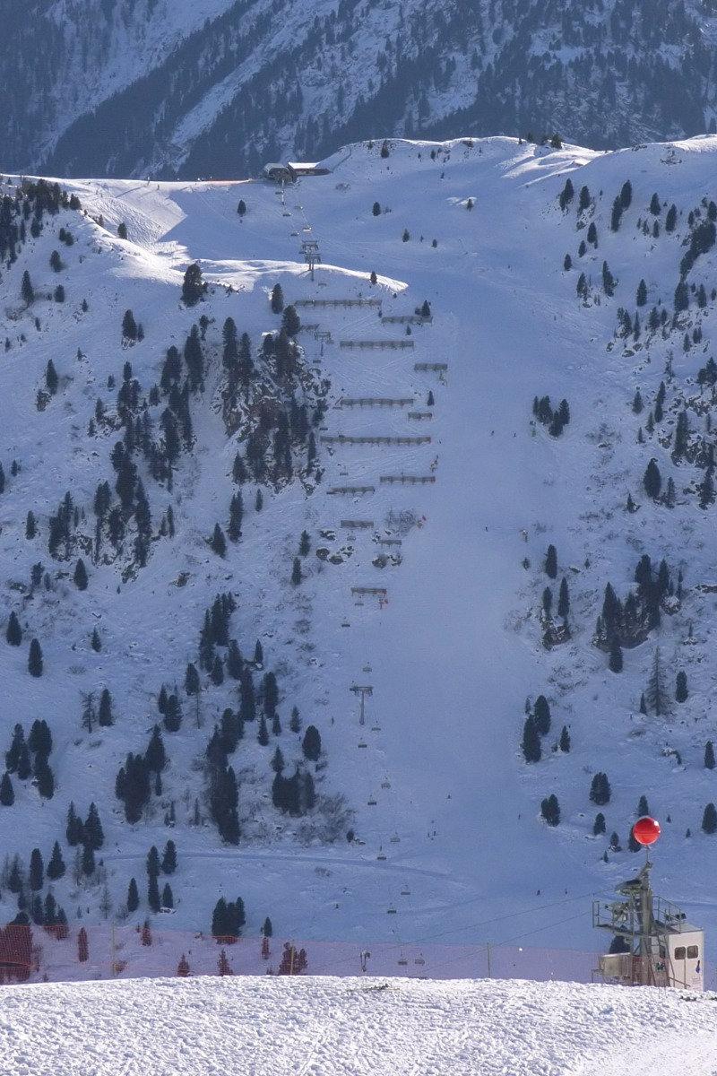 """La piste """"Harakiri"""", située sur le domaine de Mayrhofen, est la plus raide d'Autriche - © OT Mayrhofen"""