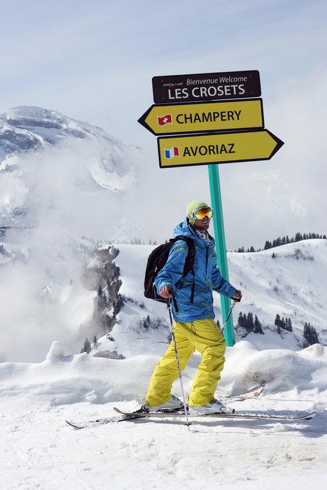 Porte du Soleil skiers - ©Nicolas Joly