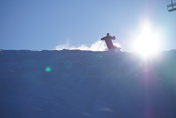 A powder morning at Blackjack Mountain - © Michigan Snowsports Industries Association