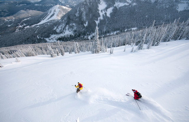 Red Mountain Resort, in the Monashee Mountains of British Columbia, is one of the hidden gems in North American skiing. - © ©marseille