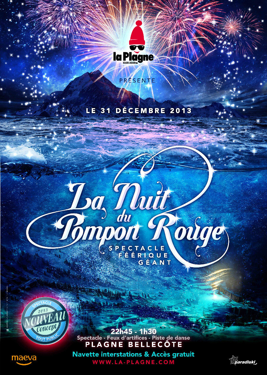 Red Pompon Night: New Year's Eve in Tignes - ©Tignes