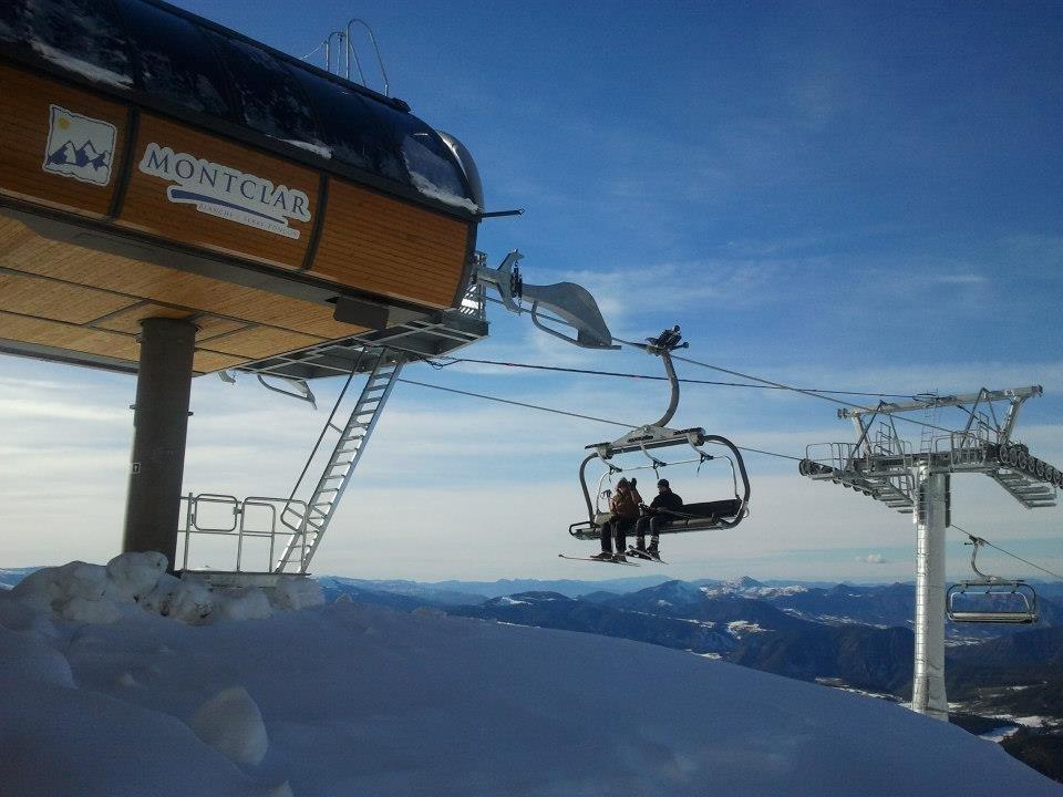 En route pour les pistes de ski de Montclar - © Montclar FB