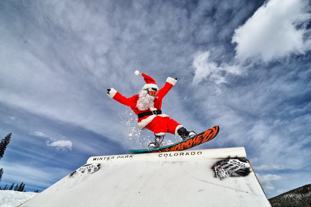 Santa on the box - © Sarah Wieck