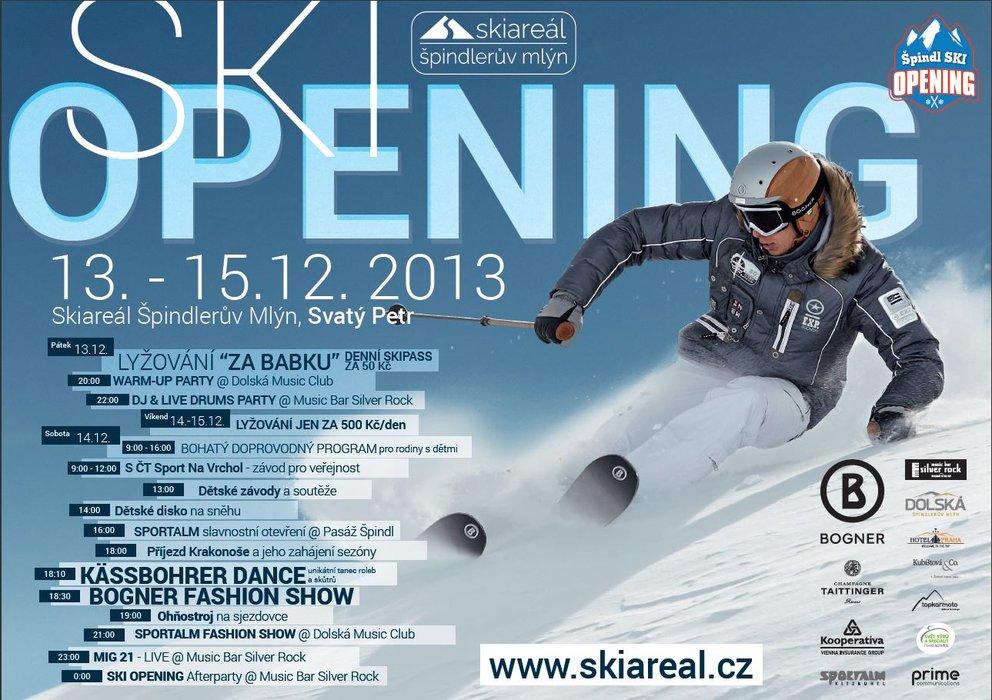 Ski Opening Špindlerův Mlýn - ©Skiareál Špindlerův Mlýn