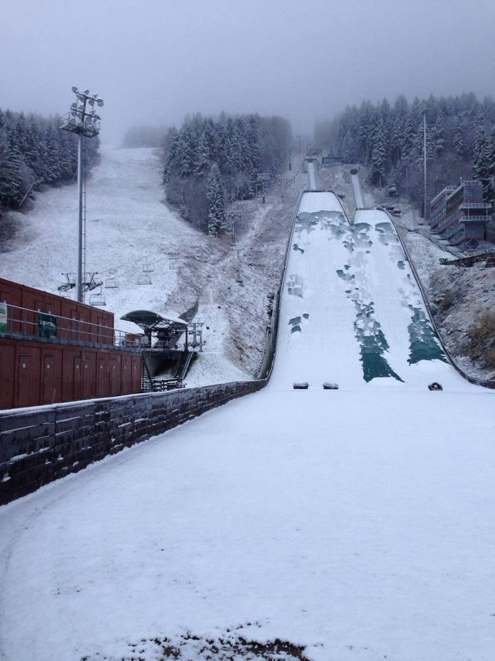 Skiareál Ještěd 6.11.2013 - ©Ještěd Facebook