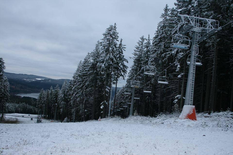 Skiareál Lipno 11.11.2013