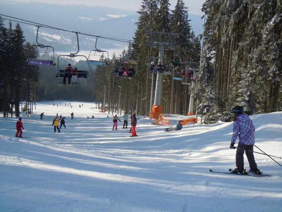Skiareal Lipno - © Skiareál Lipno