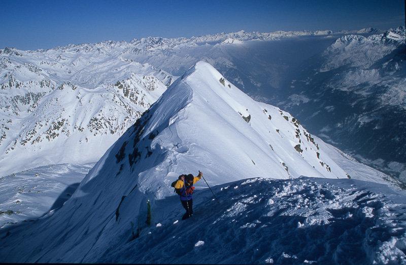 Skitouren mit gipfel winterhorn pizzo lucendro