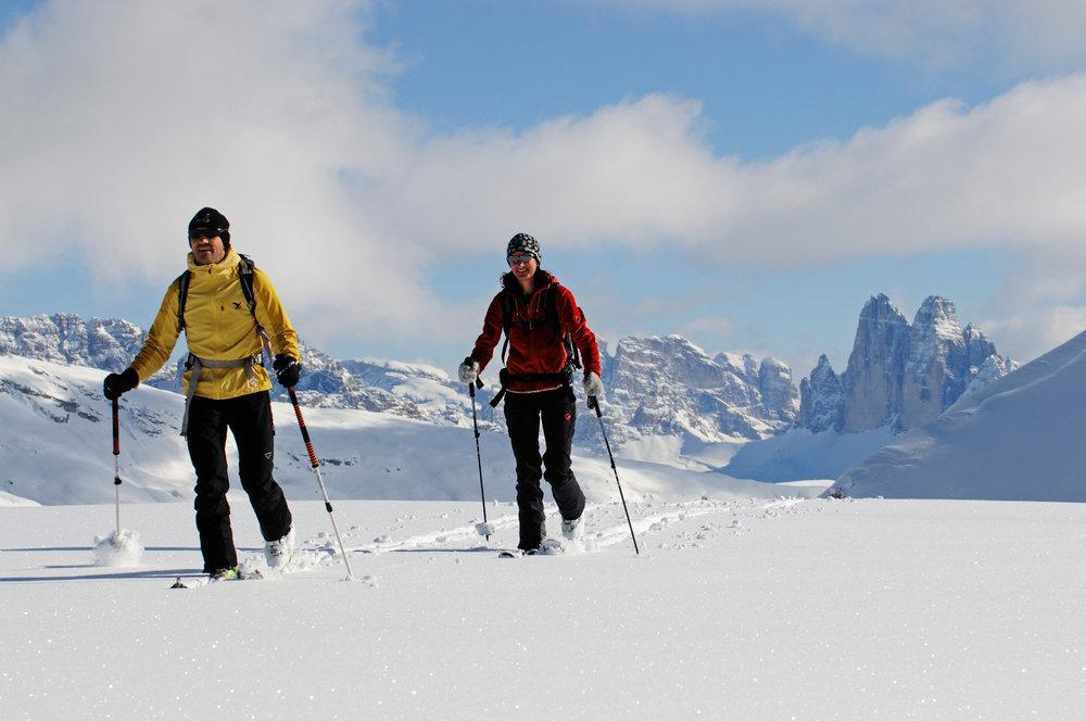 Skitourengeher im Hochpustertal - © Norbert Eisele-Hein