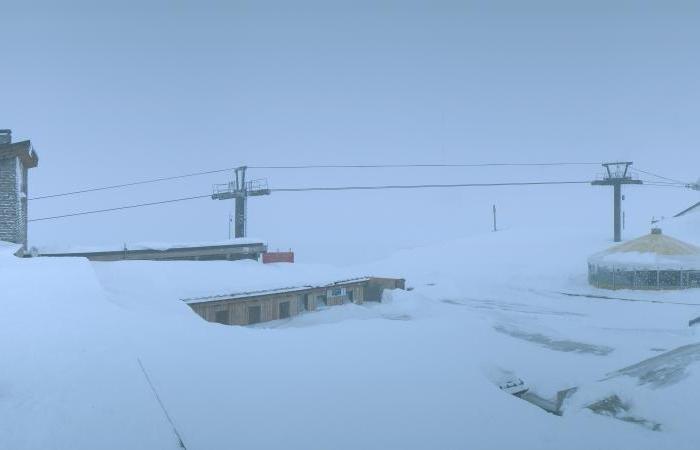 Snow in Val d'Isère Nov. 15, 2013