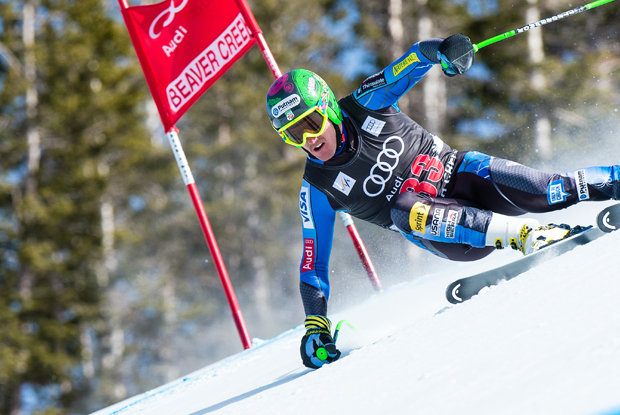 Ted Ligety racing at Beaver Creek. - © Jack Affleck