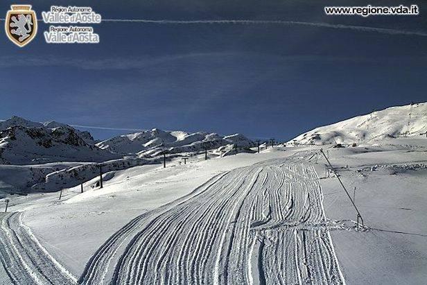 Vallee d'Aosta, Italy Nov. 12, 2013