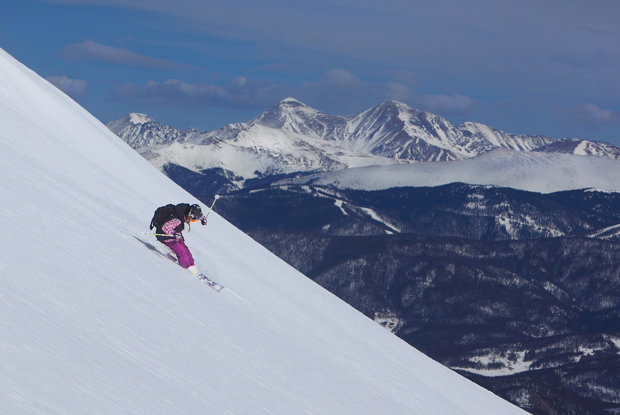 The views from Breckenridge Peak 6... not too shabby.   - ©Breckenridge