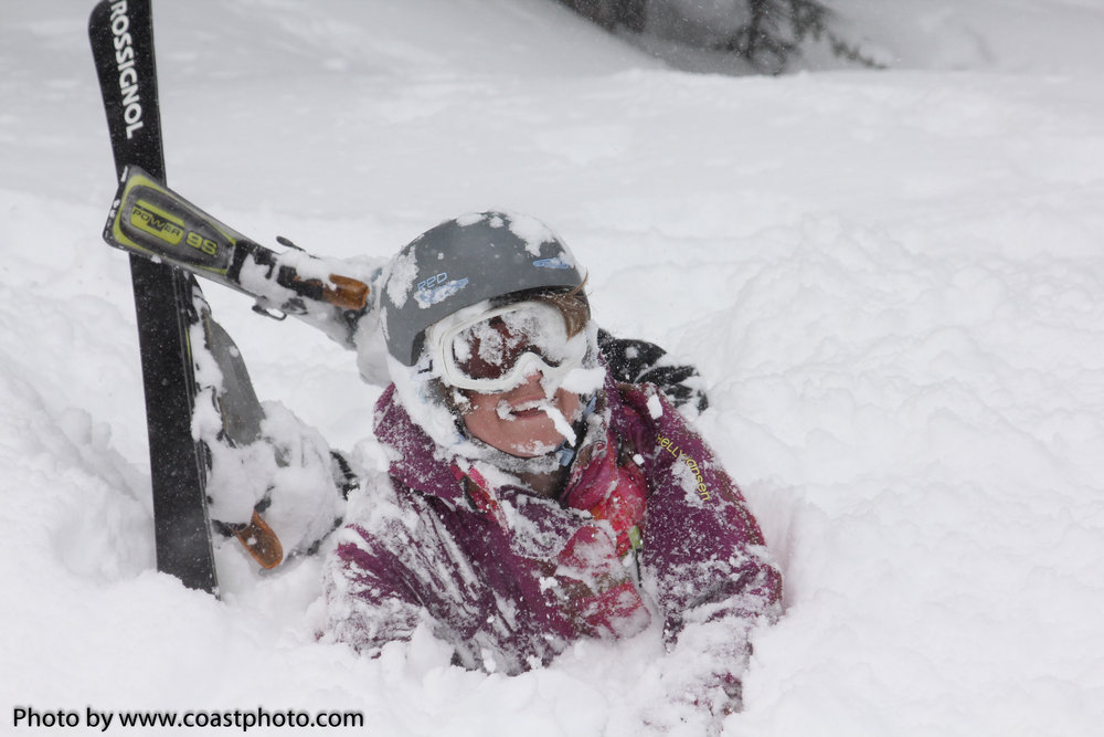 March 2012 brought deep snow to Whistler Blackcomb. Photo by Coastphoto.com - ©Coastphoto.com