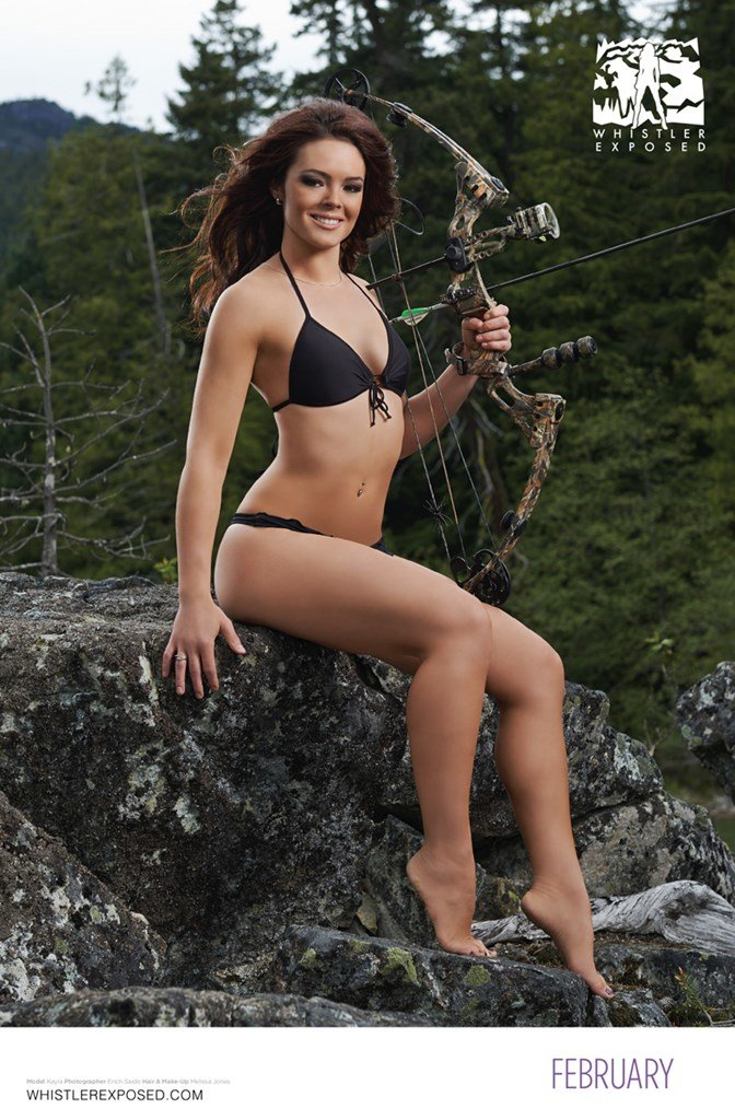 Whistler Exposed Bikini Calendar 2014: February