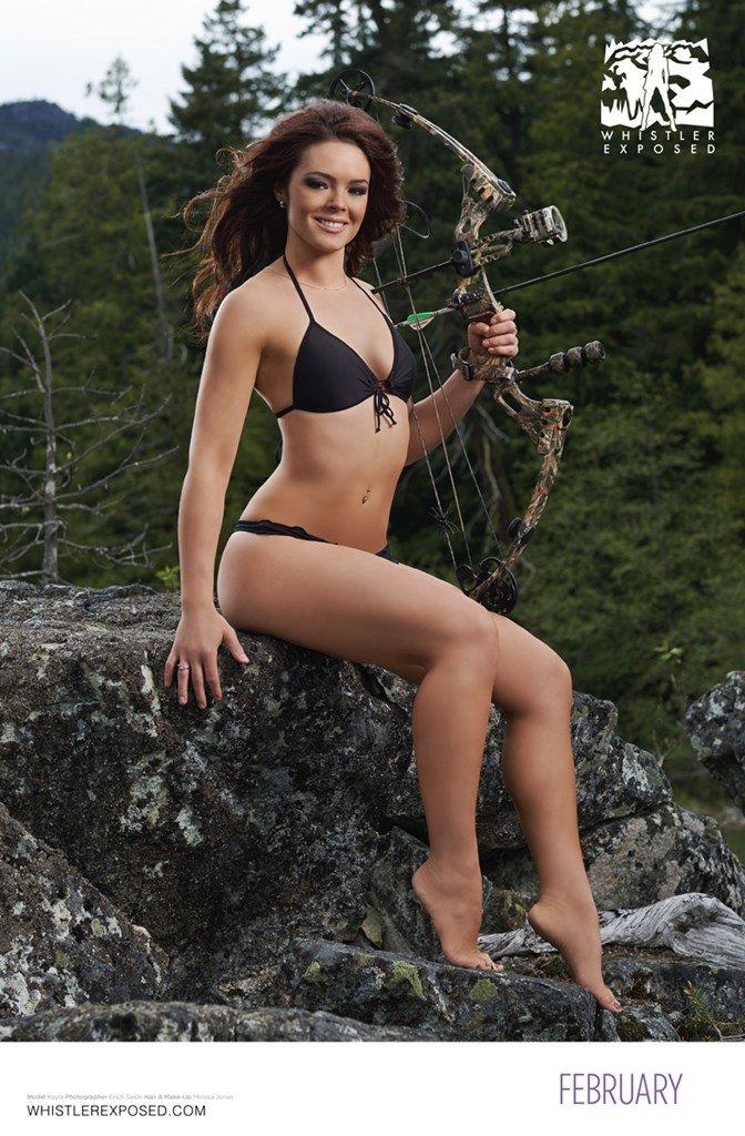 Whistler Exposed Bikini Calendar 2014: February