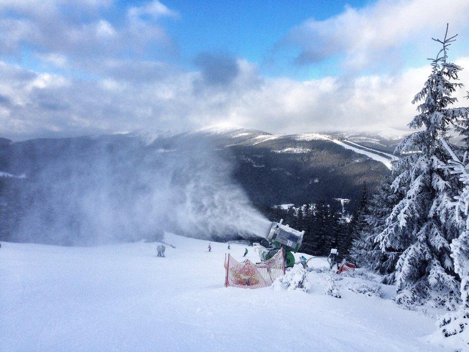 Špindlerův Mlýn - ©FB skiareálu