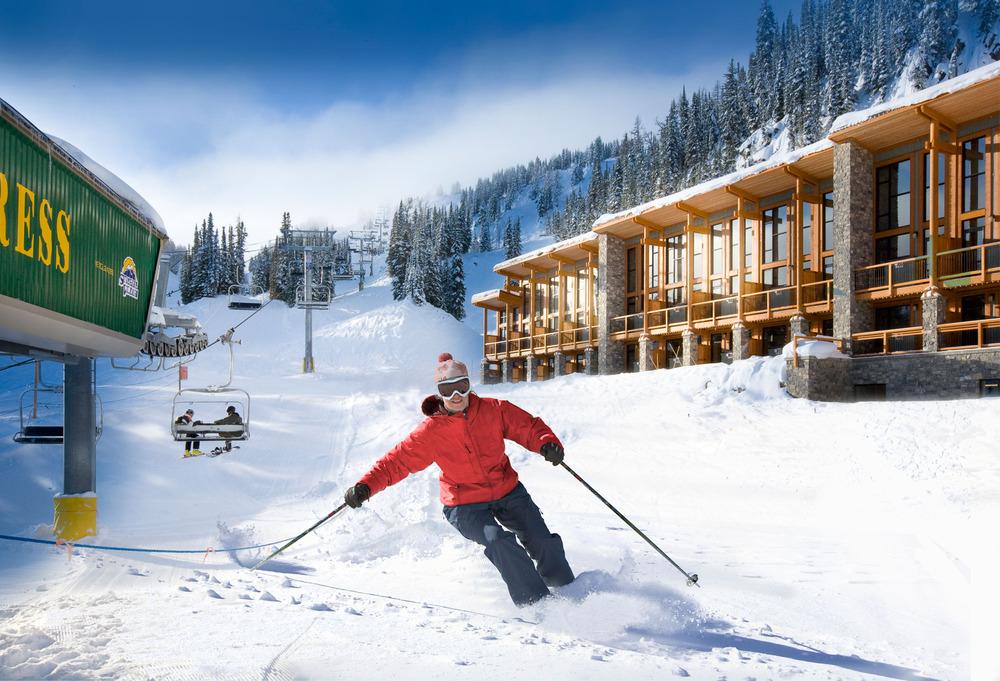 Sunshine Mountain Lodge courtesy of Ski Banff-Lake Louise-Sunshine.