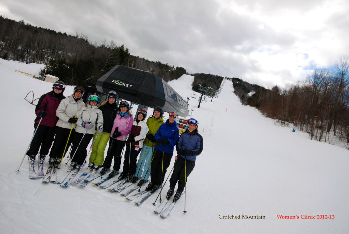Women's Clinic at Crotched Mountain. - ©Crotched Mountain