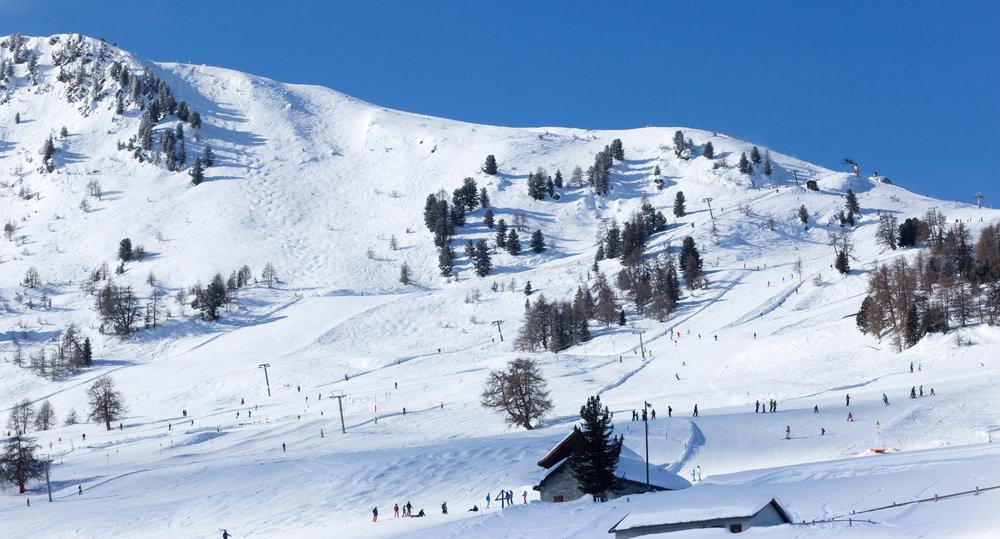 Vue sur le domaine skiable de Thyon - © Thyon-Région Tourisme