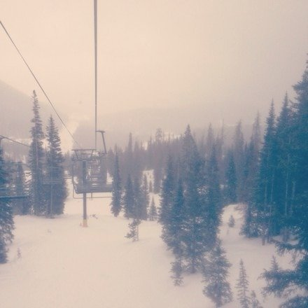 Went over last weekend. It was snowing and very windy. Lots and lots of powder. I'm going back again this weekend!