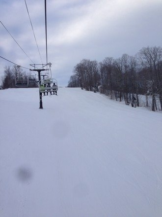 First tracks and conditions are totally mint on groomed runs. Get here early before it all gets skied off!!!