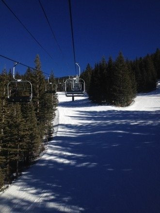 Santa Fe was beautiful yesterday! No lines and almost everything was open.. Wizard was all powder