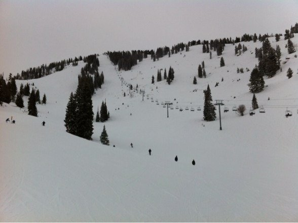 Nice powder and no lines!