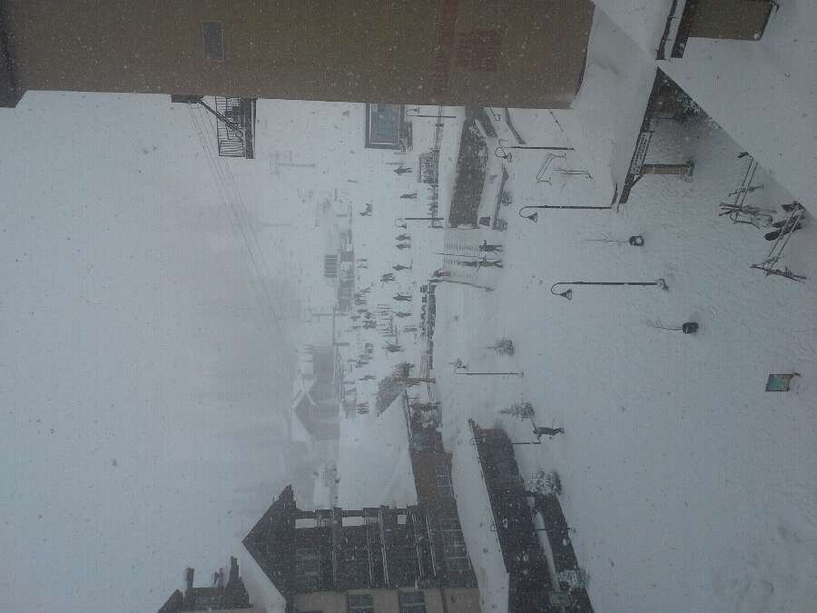 Powder baby!! whiteout conditions all day at purg more snow tonight let it storm.....