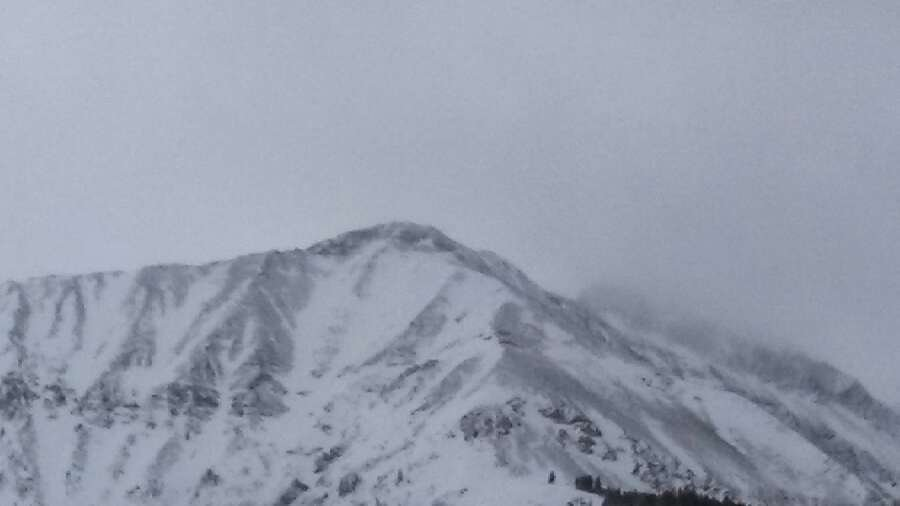 good snow today at big sky tram is running