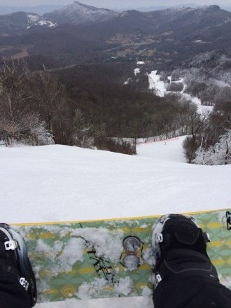 Little icy yesterday and very crowded . Night ski is the way to go, all in all it was a good mountain.