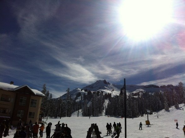 We had a great day of ski and sun!!