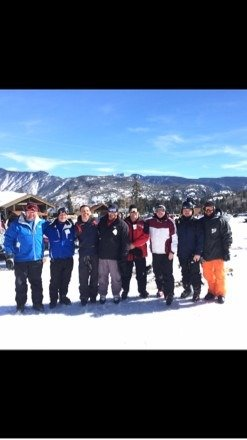 Last day for the whole group looking forward to one more day   It's snowing tonight