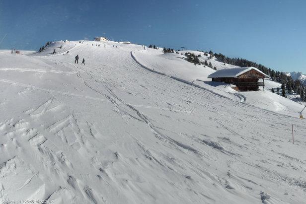 Alpe di Siusi, Neve 14 Feb 2014