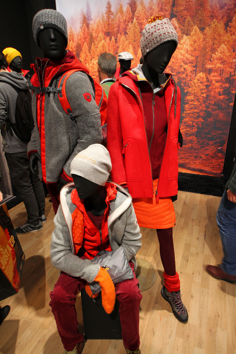 Alpine Life Collection at Salewa stand - ©Skiinfo