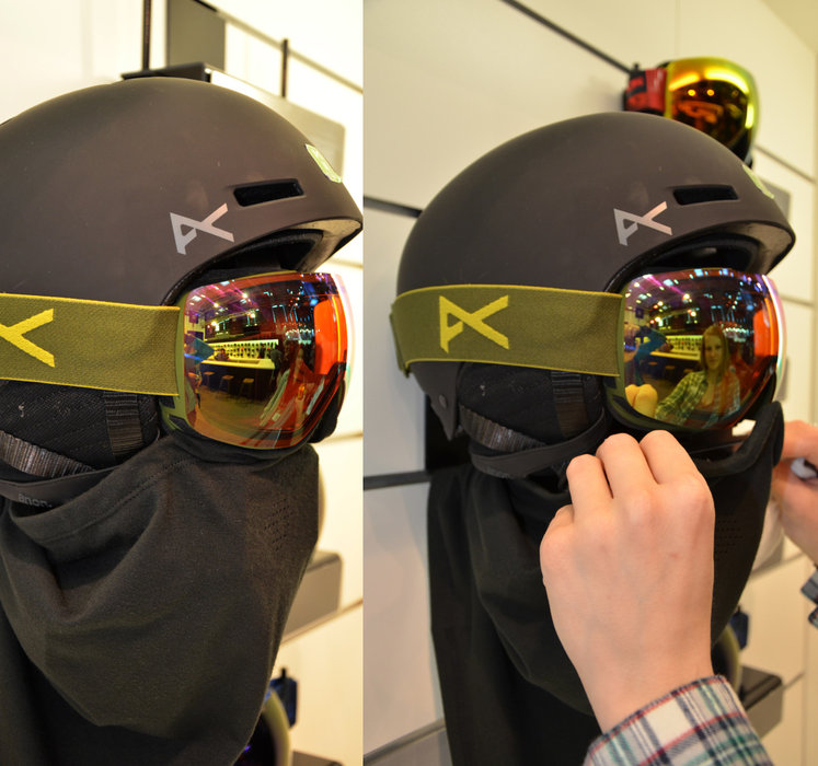 Anon combines Goggle and Beanie - ©Skiinfo