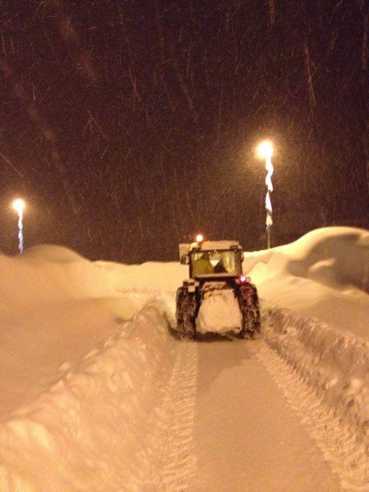 Arabba, Neve fresca 31 Gen 2014