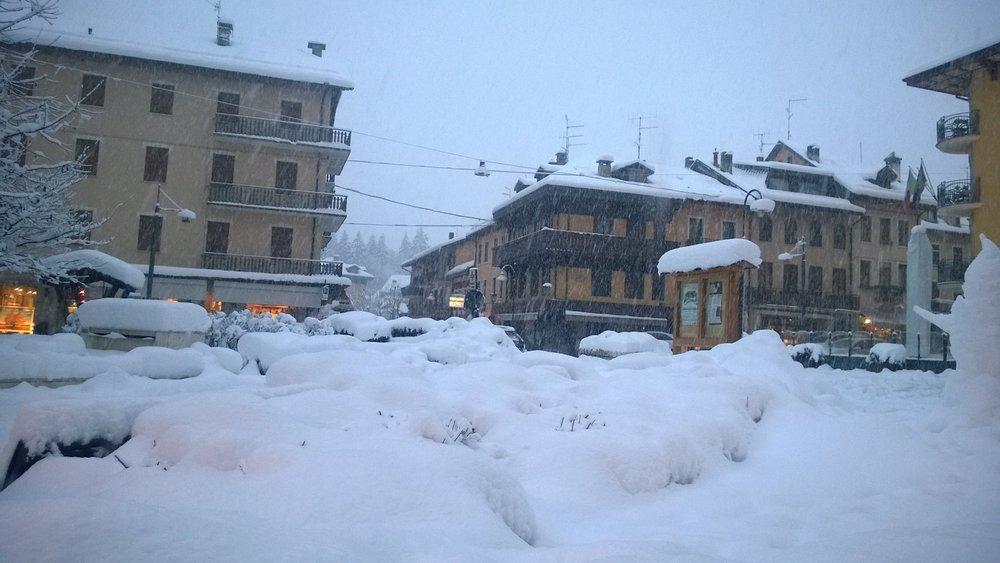 Asiago, Nevicata 30 Gen 2014